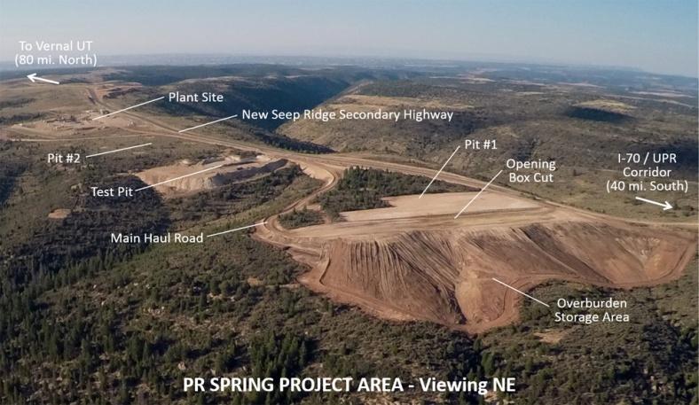 PR Spring-aerial